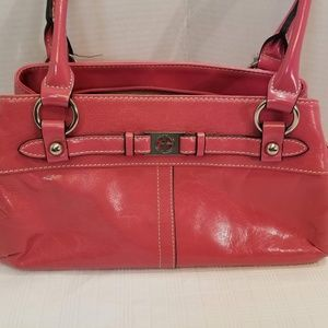 EUC Giani Bernini Fuschia Shoulder Bag.